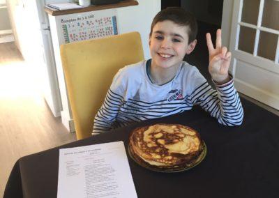 Gâteau de crêpes-Enzo